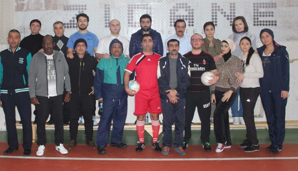 سفارة دولة قطر لدى أذربيجان تحتفل باليوم الرياضي للدولة