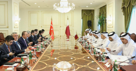 Ministerial Meeting of Qatari-Turkish High Strategic Committee Begins in Doha