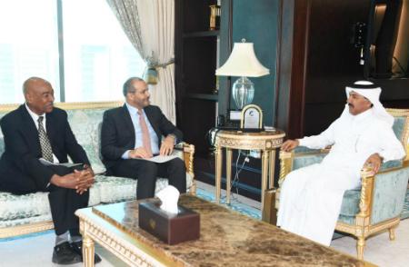 الأمين العام لوزارة الخارجية يجتمع مع مسؤولين أمميين