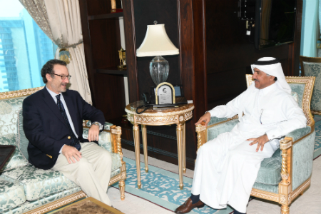 Foreign Ministry's Secretary-General Meets US Assistant Secretary of State