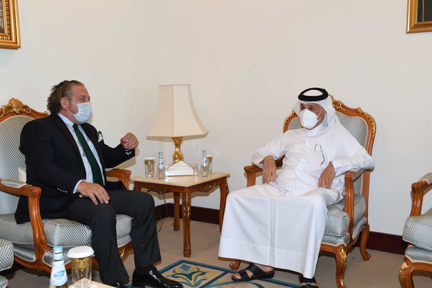 Minister of State for Foreign Affairs Meets Ambassador of Bosnia and Herzegovina