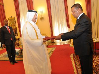 الرئيس الإثيوبي يتسلم أوراق اعتماد سفير دولة قطر