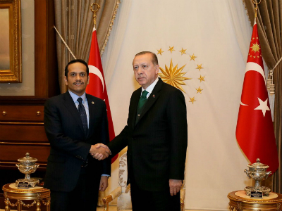 President of Turkey Meets Foreign Minister