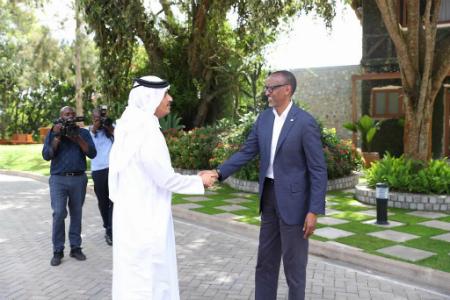 الرئيس الرواندي يستقبل نائب رئيس مجلس الوزراء وزير الخارجية
