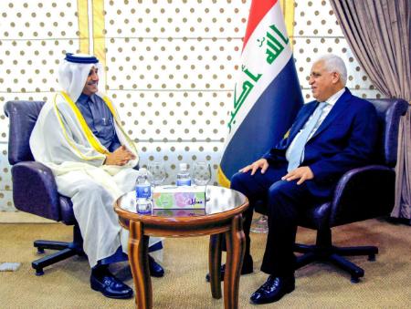 المبعوث الخاص لوزير الخارجية يجتمع مع مستشار الأمن الوطني العراقي