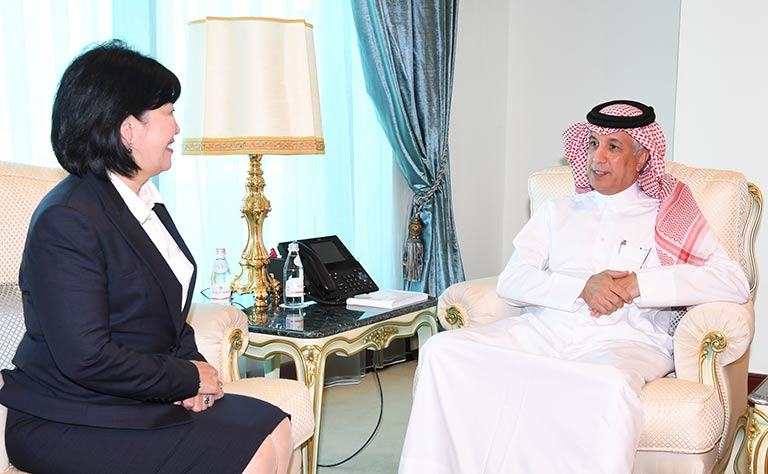 HE Foreign Minister Receives Message from Mongolia's Minister of Foreign Affairs