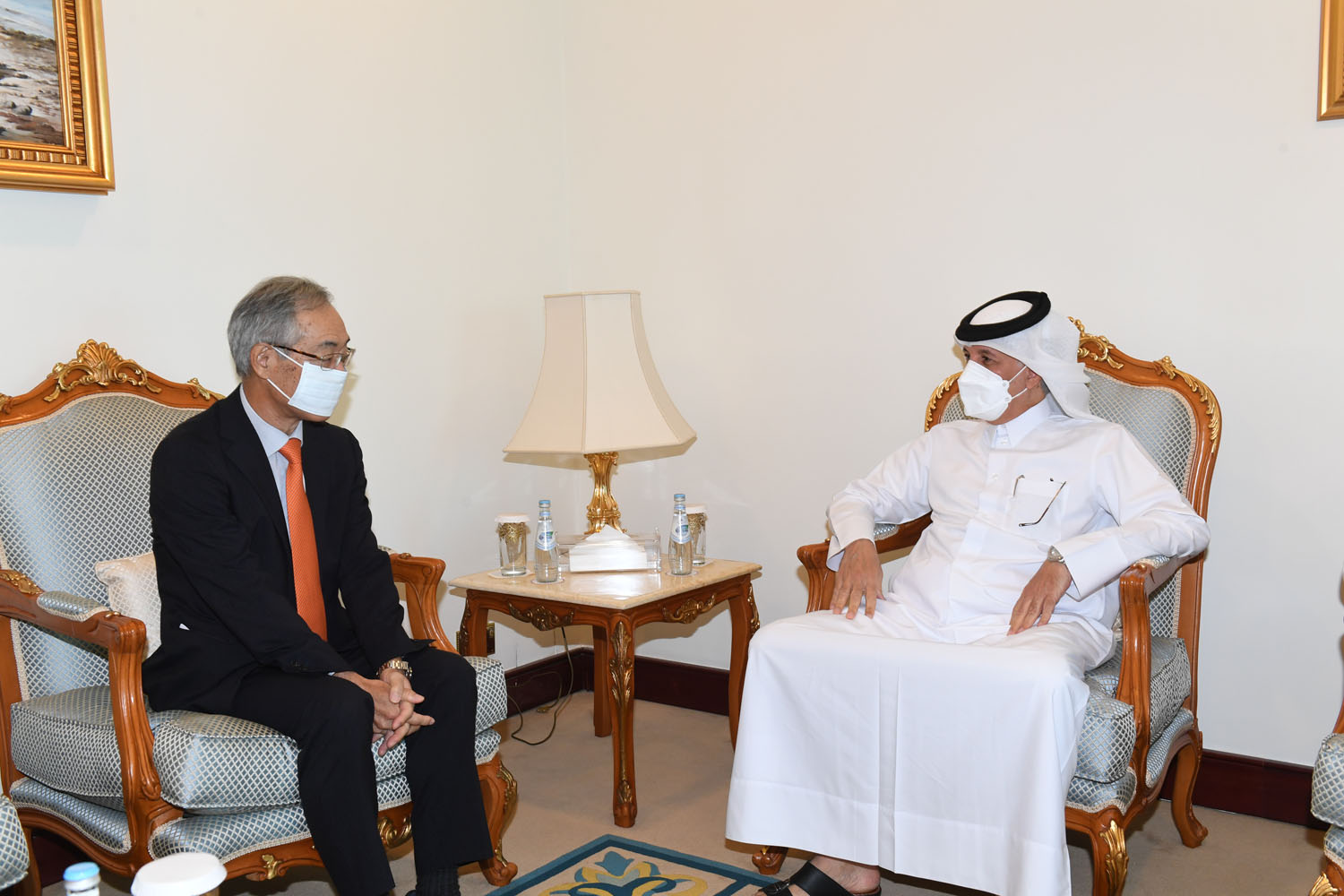 Minister of State for Foreign Affairs Meets Japanese Ambassador