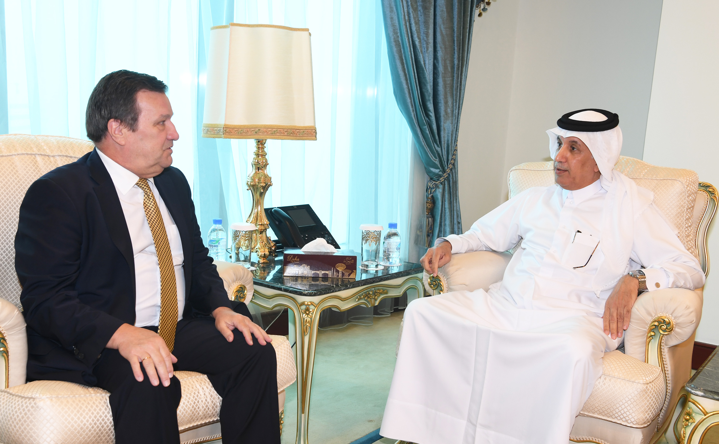 Minister of State for Foreign Affairs Meets Ukrainian Ambassador