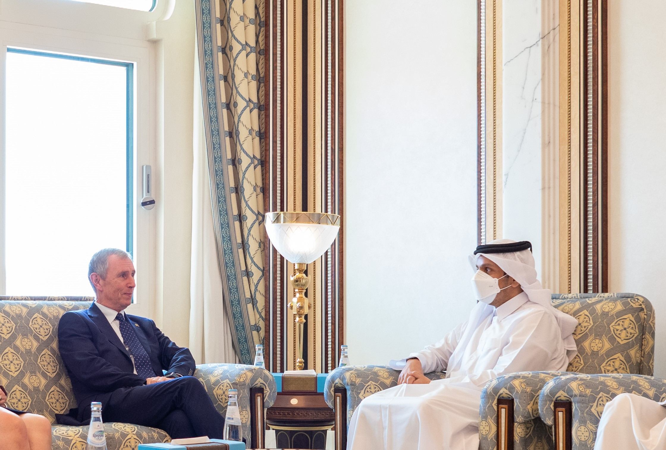 Deputy Prime Minister and Minister of Foreign Affairs Meets a Delegation from the British Parliament