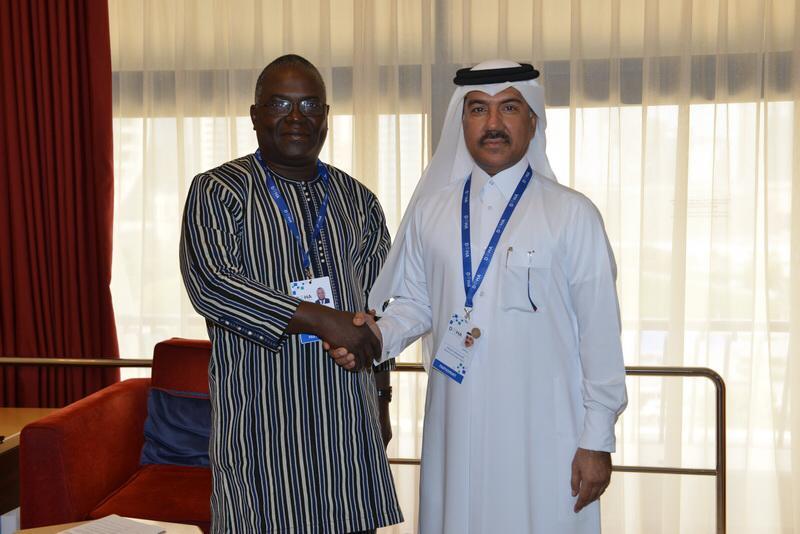 الأمين العام لوزارة الخارجية يجتمع مع نظيريه في بوركينا فاسو ومولدوفا وعضو في البرلمان الإيرلندي