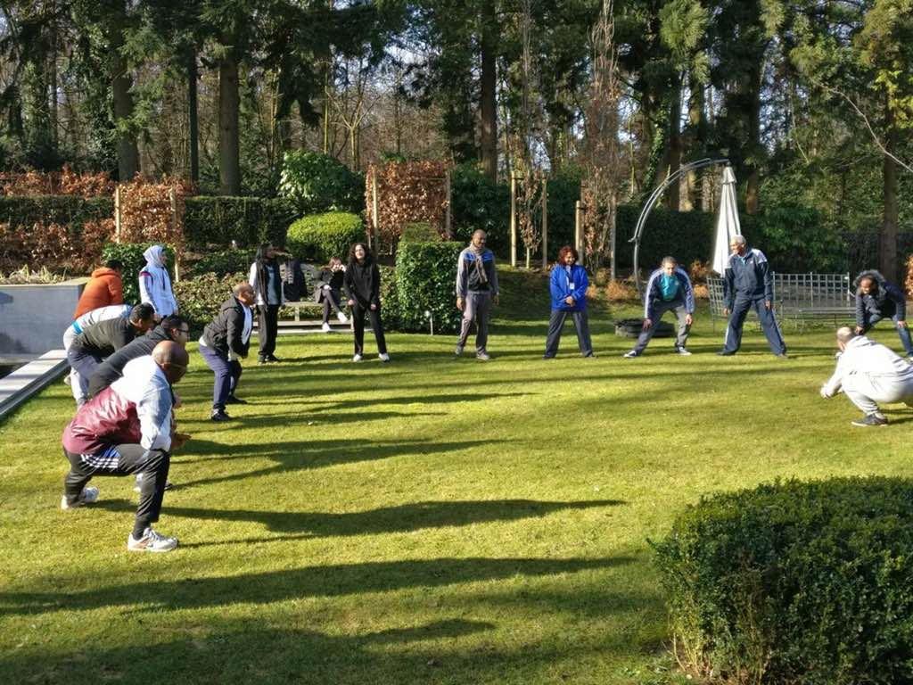 سفارة دولة قطر لدى بلجيكا تحتفل باليوم الرياضي للدولة