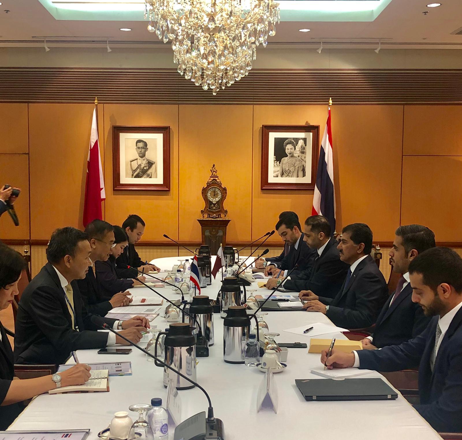 جولة مشاورات سياسية بين دولة قطر ومملكة تايلاند