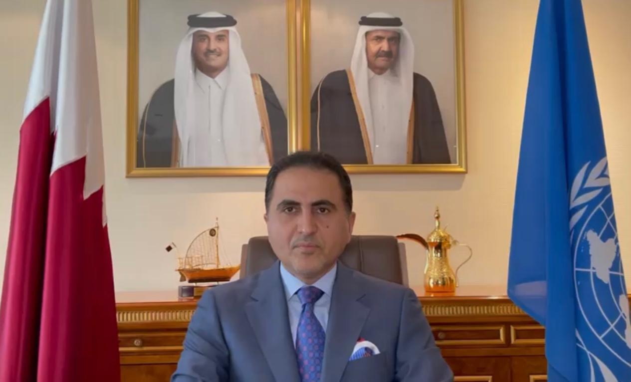 دولة قطر تؤكد حرصها على تيسير الحوار بين الأطراف الأفغانية