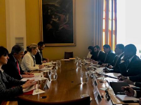 جولة مشاورات سياسية بين دولة قطر والجمهورية الإيطالية