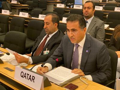 دولة قطر تجدد التزامها بمواصلة دعم برامج مفوضية الأمم المتحدة لشؤون اللاجئين
