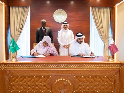 دولة قطر تمنح مفوضية الاتحاد الإفريقي 20 مليون دولار لصالح ضحايا الهجرة غير النظامية