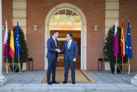 رئيس الحكومة الإسبانية يستقبل نائب رئيس مجلس الوزراء وزير الخارجية