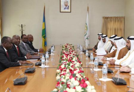 رئيس الوزراء الرواندي يستقبل نائب رئيس مجلس الوزراء وزير الخارجية
