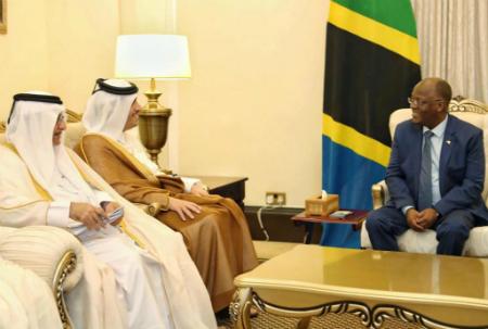 رئيس تنزانيا يستقبل نائب رئيس مجلس الوزراء وزير الخارجية