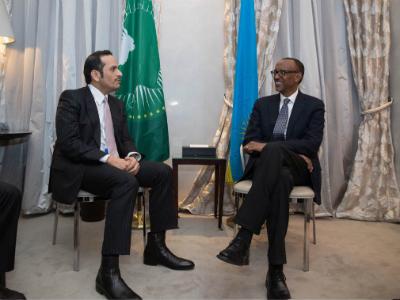 رئيس جمهورية رواندا يستقبل نائب رئيس مجلس الوزراء وزير الخارجية
