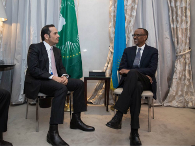 President of Rwanda Meets Deputy Prime Minister and Foreign Minister