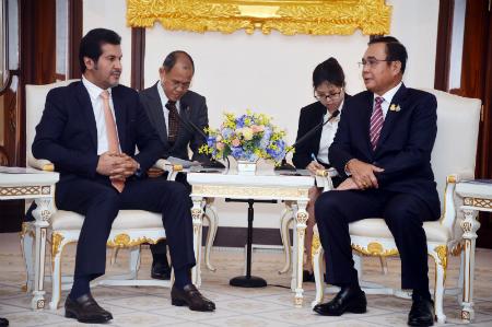رئيس وزراء مملكة تايلاند يستقبل سفير دولة قطر