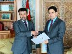 Deputy Prime Minister and Minister of Foreign Affairs Sends Written Message to Moroccan Foreign Affairs