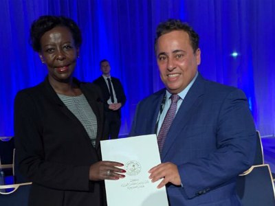رسالة من نائب رئيس مجلس الوزراء وزير الخارجية إلى الأمينة العامة للمنظمة الدولية للفرنكوفونية