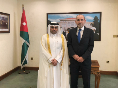 Deputy Prime Minister and Minister of Foreign Affairs Sends Written Message to Jordanian Foreign Minister