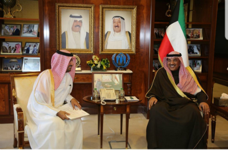 Deputy Prime Minister and Minister of Foreign Affairs Sends Message to Kuwaiti Counterpart