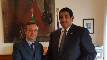 Deputy Prime Minister and Minister of Foreign Affairs Sends Message to Italian Foreign Minister