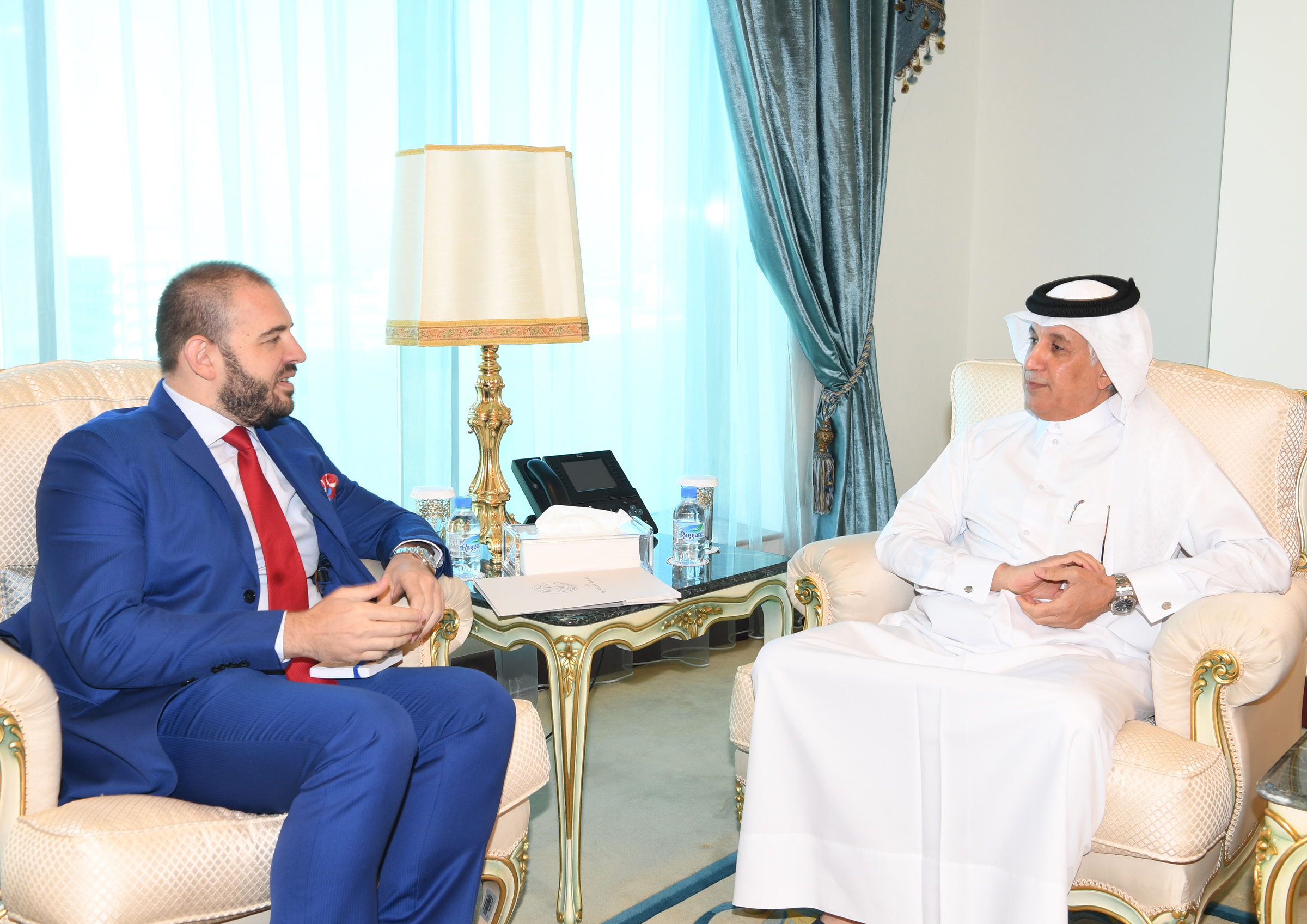 Minister of State for Foreign Affairs Meets Romanian Ambassador