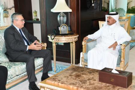 الأمين العام لوزارة الخارجية يجتمع مع سفير فنزويلا
