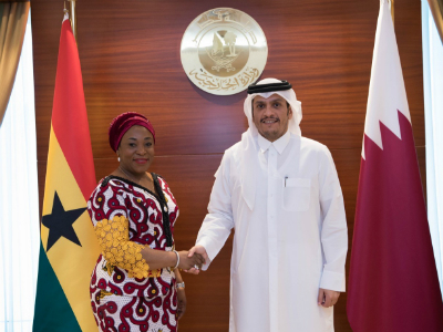 سمو الأمير يتلقى رسالة خطية من رئيس جمهورية غانا