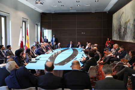 Deputy Prime Minister and Minister of Foreign Affairs Participates in Round Table Discussions in Spain