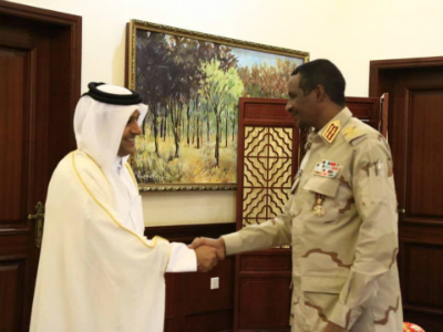 Member of Sudan's Sovereign Council Meets Special Envoy of Minister of Foreign Affairs