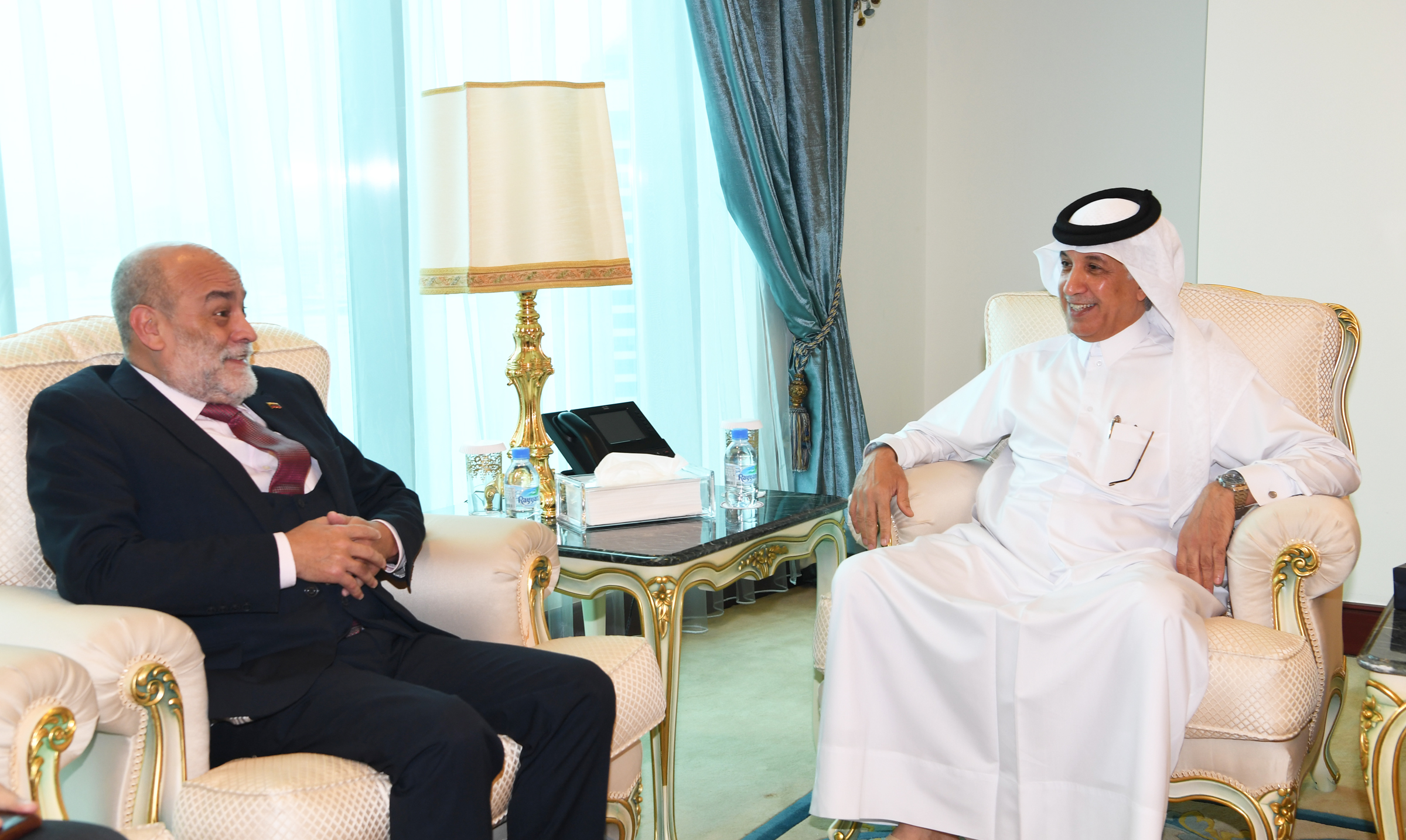 Minister of State for Foreign Affairs Meets Deputy FM of Bolivarian Republic of Venezuela for Asia, Middle East