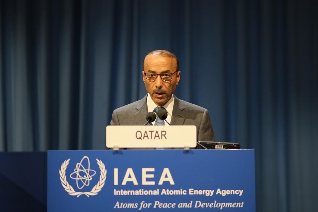 دولة قطر تؤكد أهمية تسخير التقنيات النووية للأغراض الإنسانية السلمية