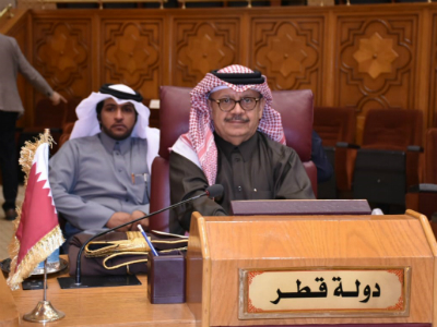 Qatar Participates in the Arab Coordination Meeting in Preparation For the Arab-European Ministerial in Brussels