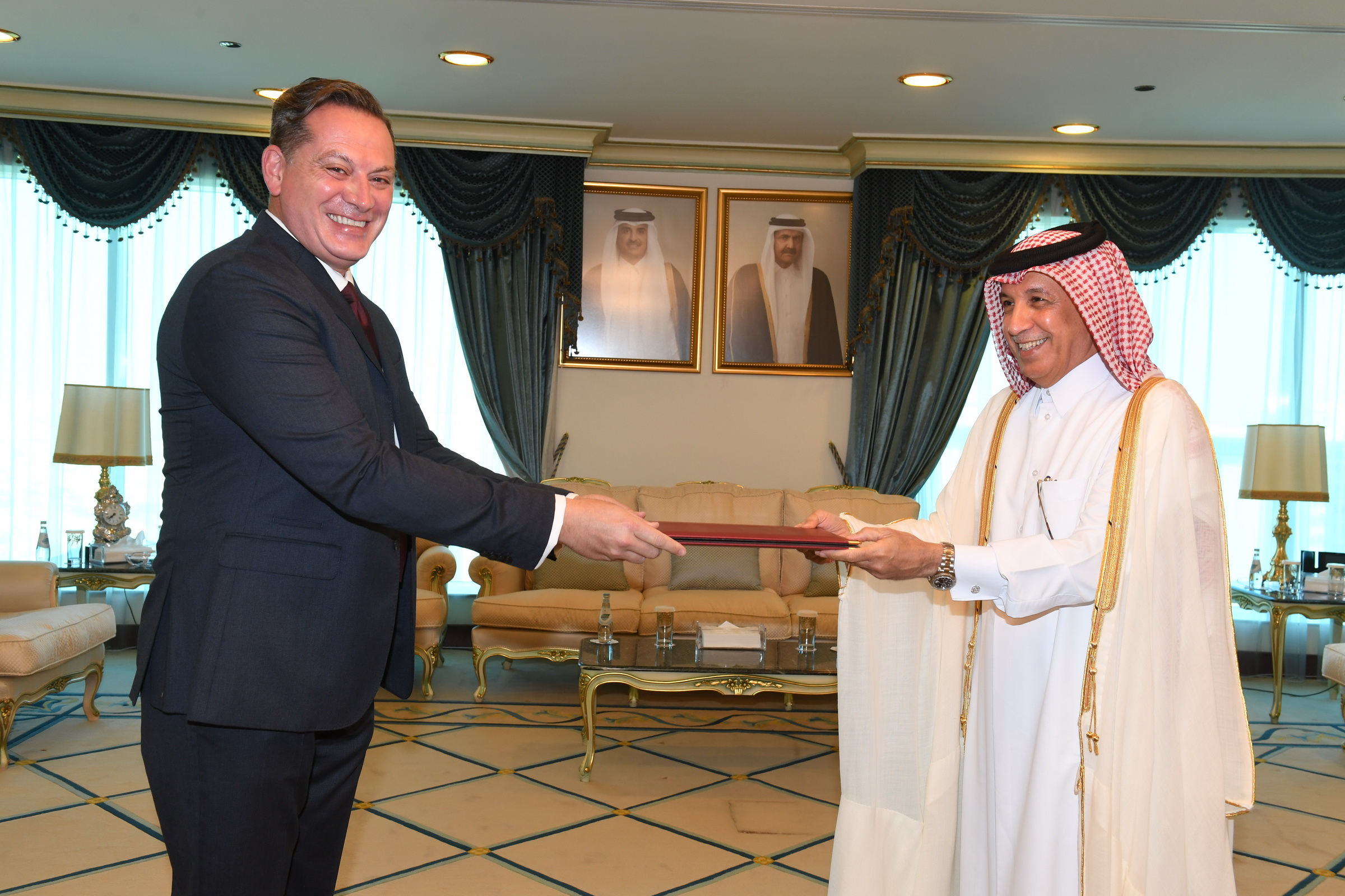 Minister of State for Foreign Affairs Receives Copies of Credentials of Sri Lanka, Guinea-Bissau, Malta Ambassadors