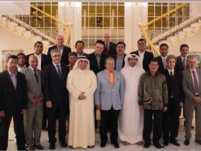 سفير قطر يقيم حفل عشاء على شرف وزير الخارجية الماليزي