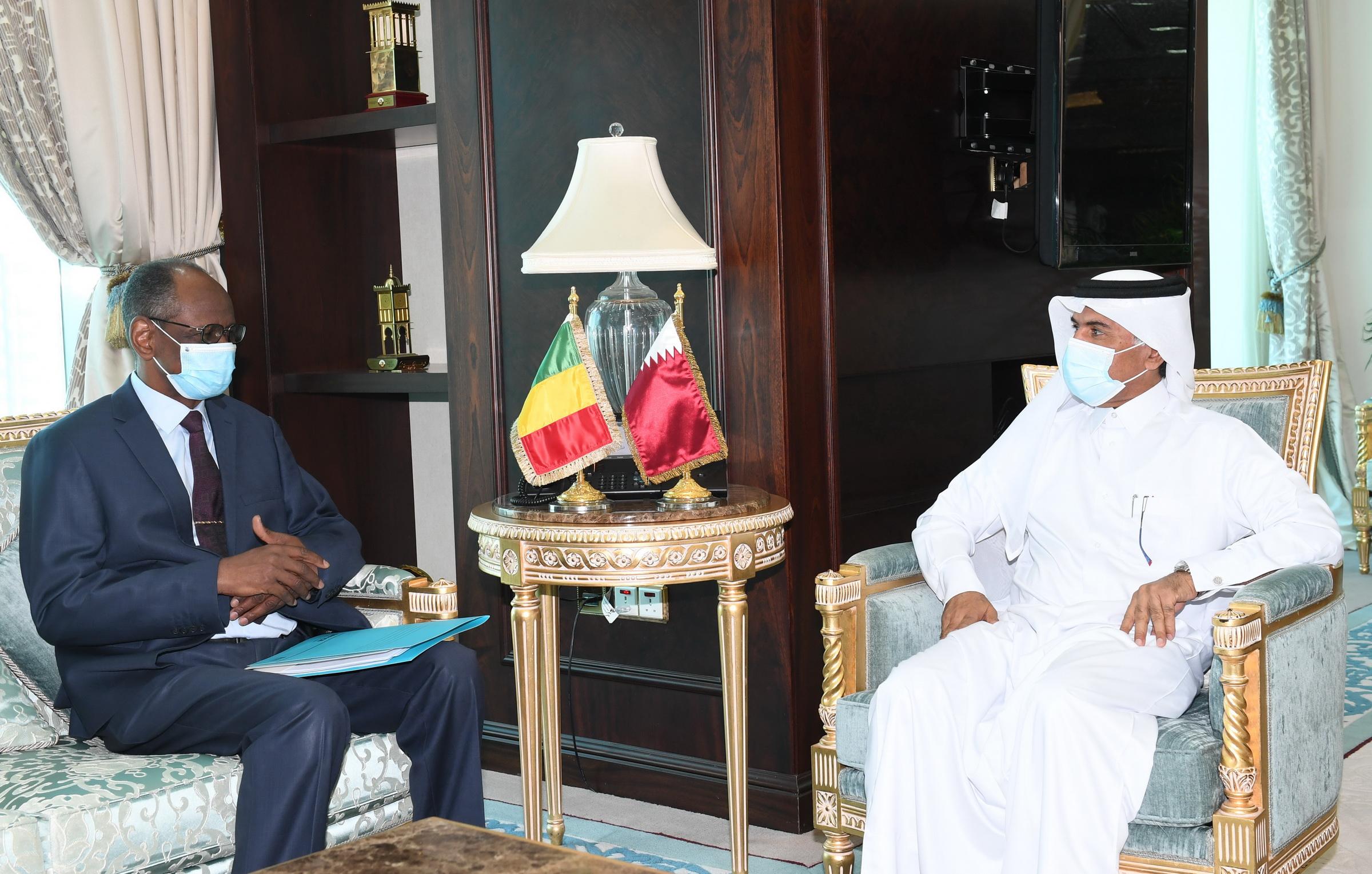 جولة مشاورات سياسية بين قطر ومالي