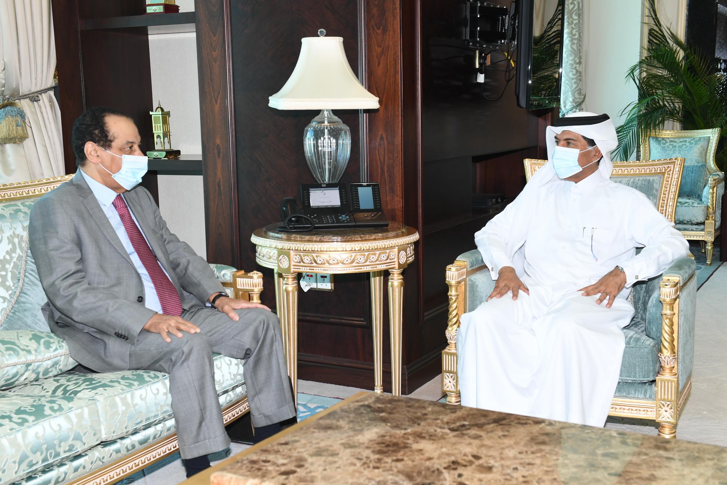 الأمين العام لوزارة الخارجية يجتمع مع مسؤول نيجري