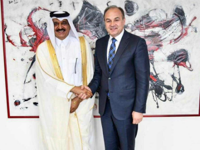 Deputy PM of the Republic of Kosovo Meets the Ambassador of the State of Qatar