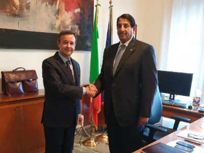 Deputy Prime Minister and Minister of Foreign Affairs Sends Written Message to Italian Minister of Foreign Affairs