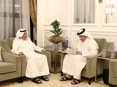 Deputy Prime Minister and Foreign Minister Receives Written Message from Kuwaiti Counterpart