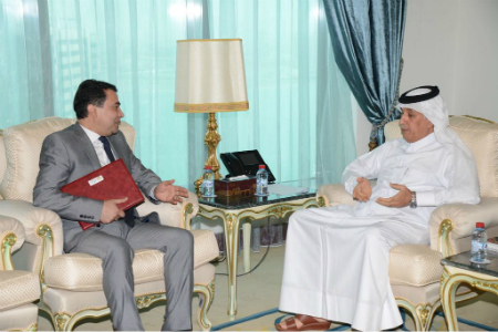 Deputy Prime Minister and Minister of Foreign Affairs Receives Written Message from Tajik Foreign Minister