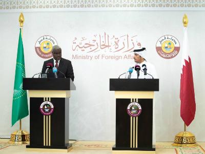 نائب رئيس مجلس الوزراء وزير الخارجية يثمن التعاون القطري الإفريقي لدعم اللاجئين الأفارقة