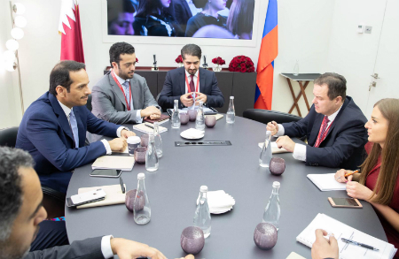 Deputy Prime Minister and Minister of Foreign Affairs Meets First Deputy Prime Minister and Minister for Foreign Affairs of Serbia