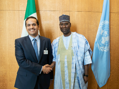 Deputy Prime Minister and Minister of Foreign Affairs Meets President of the 74th Session of the UN General Assembly